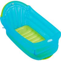Baignoire bébé gonflable turquoise