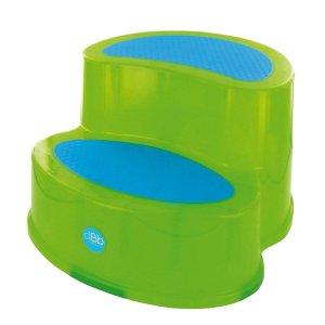 Marche pied bébé antidérapant vert
