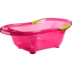 Baignoire bébé rose