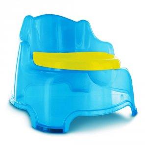 Pot bébé fauteuil bleu