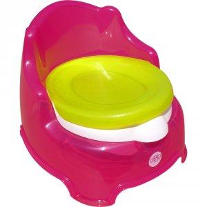 Pot bébé fauteuil rose