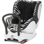 Siège auto dualfix smart zebra groupe 0+/1 pas cher