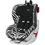 Siège auto king 2 ls smart zebra - groupe 1 pas cher