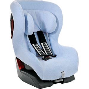 Housse été éponge bleue pour siège safefix plus isofix et king plus