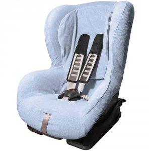 Housse été éponge bleu pour siège duo plus isofix