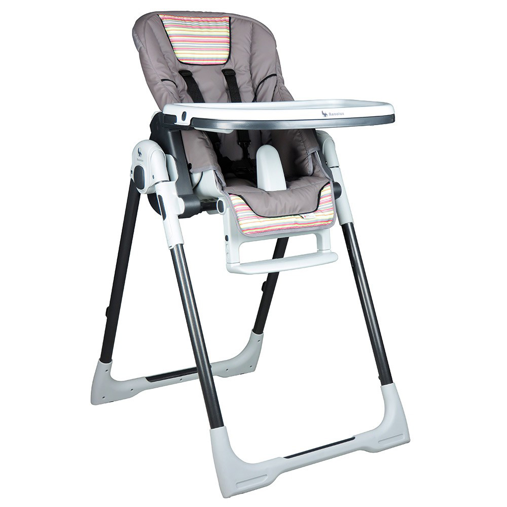 chaise haute b b vision gourmandise de renolux chez naturab b. Black Bedroom Furniture Sets. Home Design Ideas
