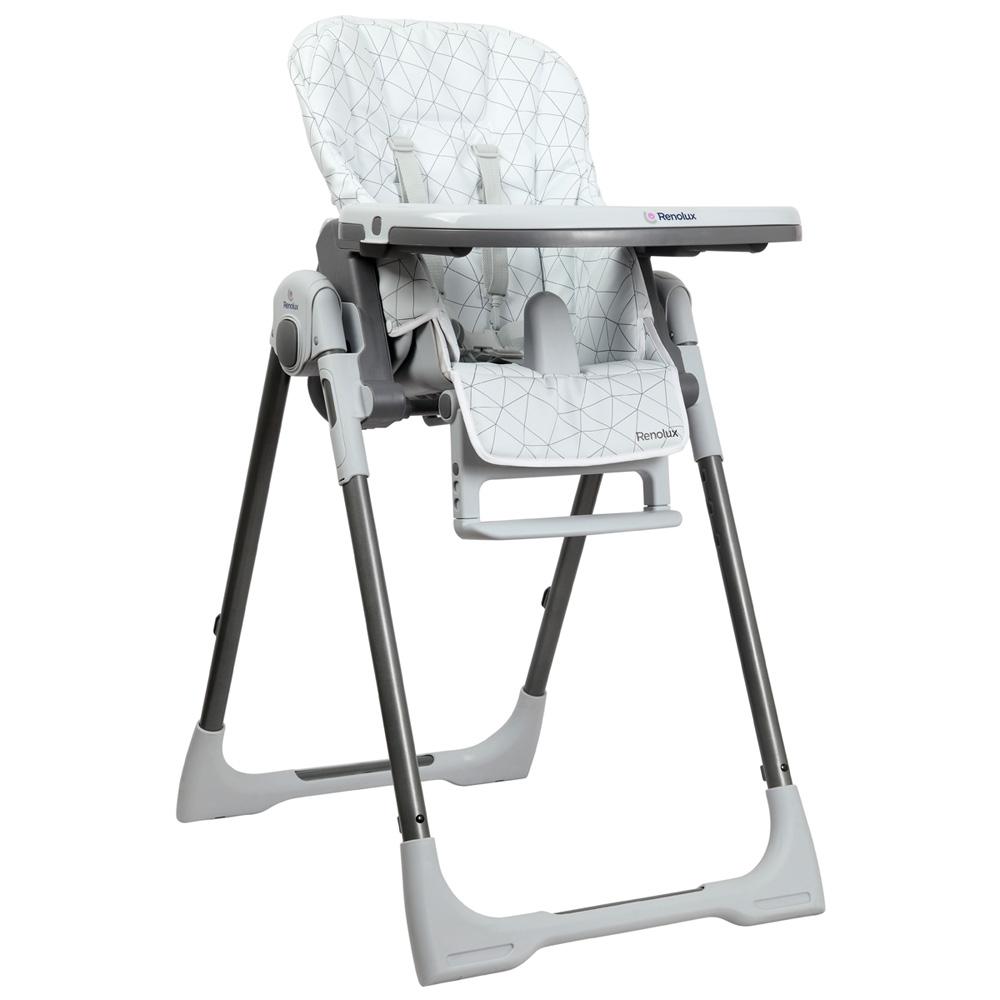 chaise haute b b vision alpha de renolux sur allob b. Black Bedroom Furniture Sets. Home Design Ideas