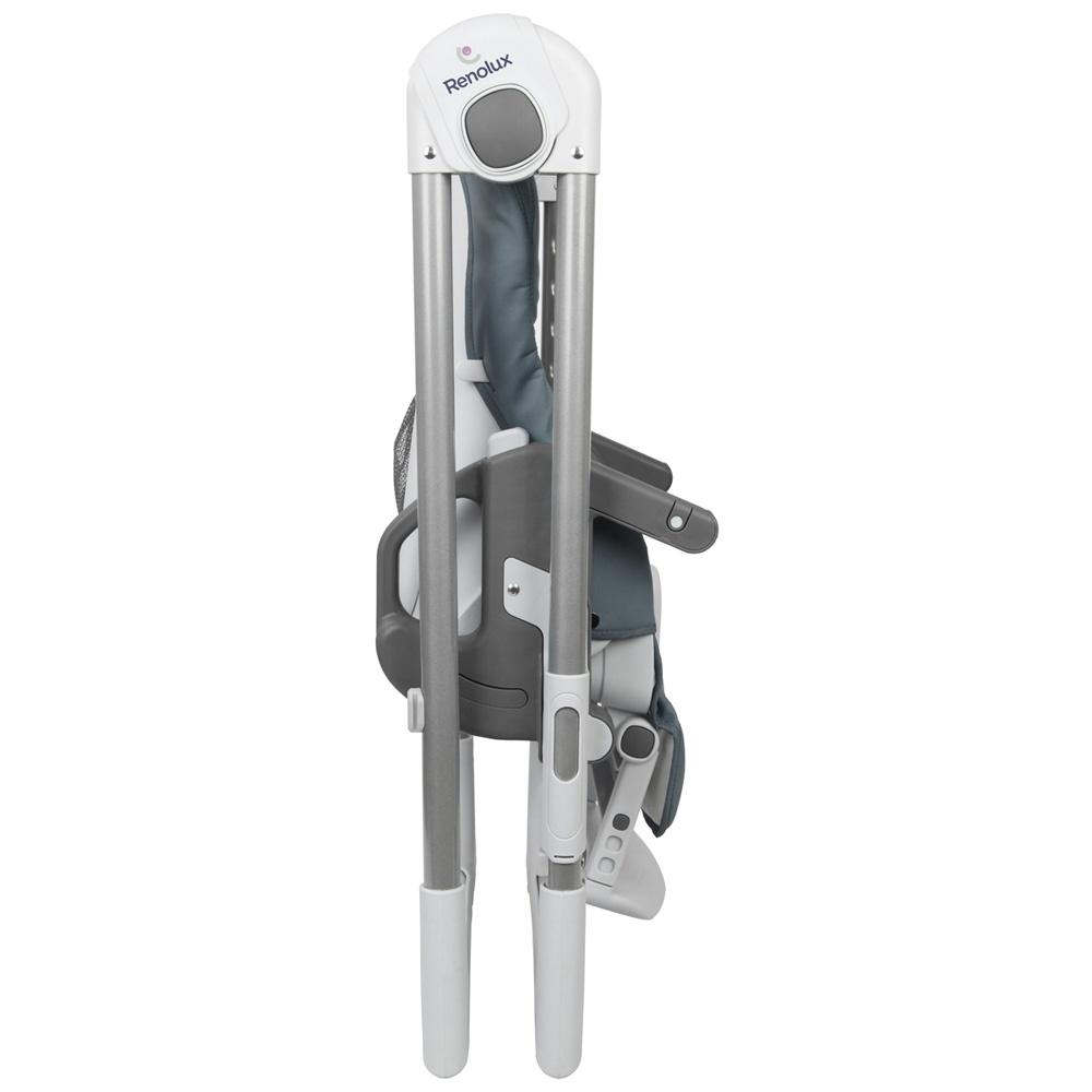 chaise haute b b vision avec r ducteur griffin de renolux. Black Bedroom Furniture Sets. Home Design Ideas