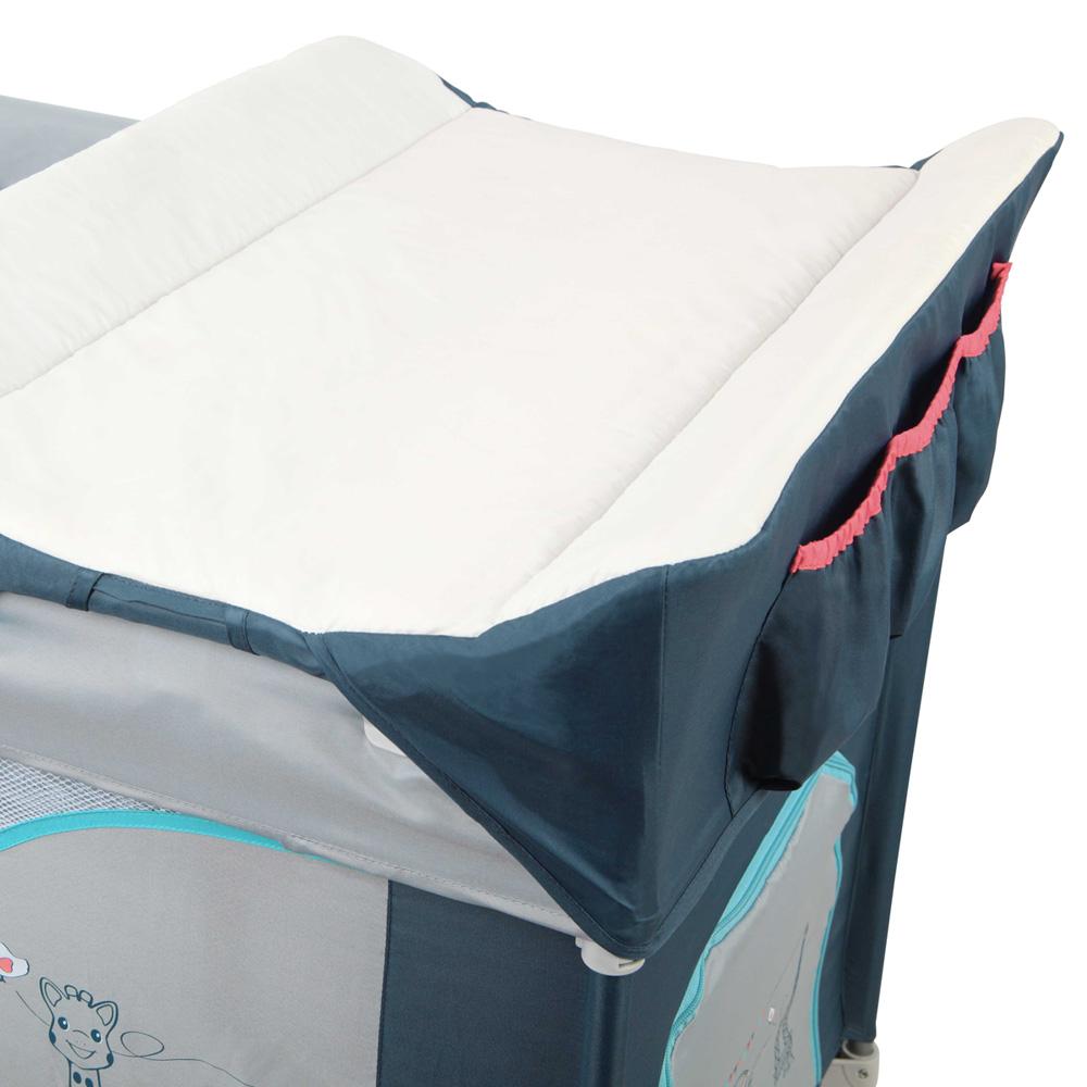 lit parapluie optic sophie la girafe paris de renolux sur. Black Bedroom Furniture Sets. Home Design Ideas