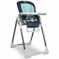Chaise haute bébé bébé vision avec réducteur marine