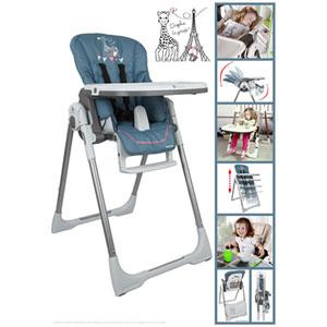 Renolux Chaise haute bébé vision sophie la girafe paris