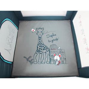 Renolux Parc bébé prism sophie la girafe paris