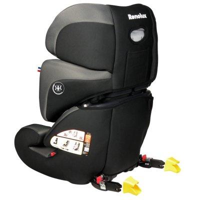 Siège auto stepfix smart black groupe 2/3 Renolux