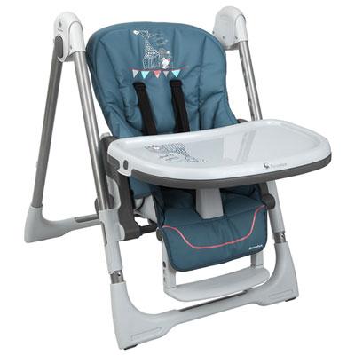 Chaise haute bébé vision sophie la girafe paris Renolux