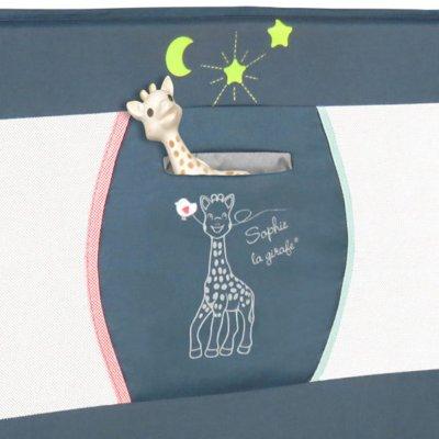 Barrière de lit bébé glory sophie la girafe paris Renolux