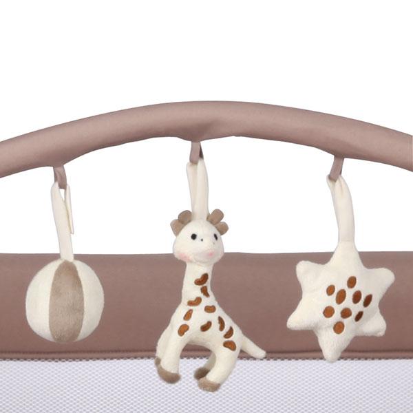 Parc bébé prism sophie la girafe Renolux