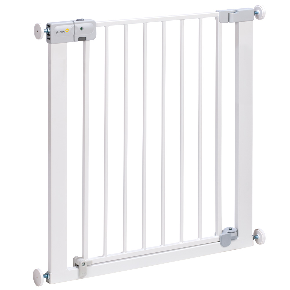 Barri re de s curit auto close metal white 73 80 cm de - Barriere de securite safety ...