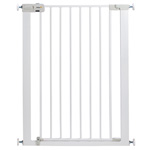 Barrière u pressure easy close extra tall metal white pas cher