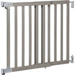 Barrière de sécurité wall-fix extending wood light grey 63-104 cm pas cher