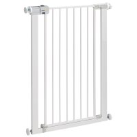 Barrière de sécurité u-pressure easy close extra tall metal white