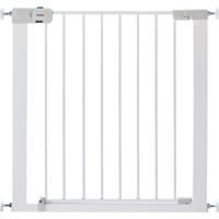 Barrière de sécurité easy close metal white 73-80 cm