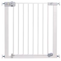 Barrière de sécurité auto close metal white 73-80 cm