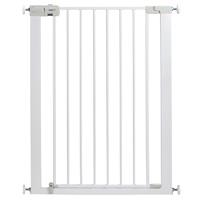 Barrière de sécurité easy close extra tall metal white 73-80 cm
