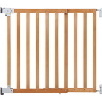 Barrière wall-fix extending wood bois naturel 63-104 cm