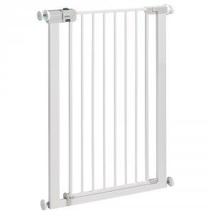 Barrière de sécurité u-pressure easy close extra tall metal white