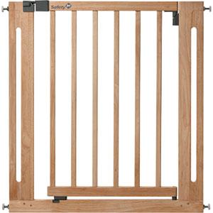Barrière sécurité bébé easy close bois 73 - 80.5 cm