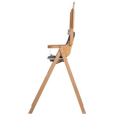 Chaise haute bébé nordik natural wood Safety 1st