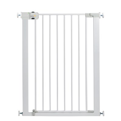 Barrière de sécurité u-pressure easy close extra tall metal white Safety 1st