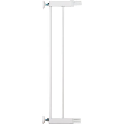 Extension barrière 14 cm u-pressure easy close metal/deco white Safety 1st