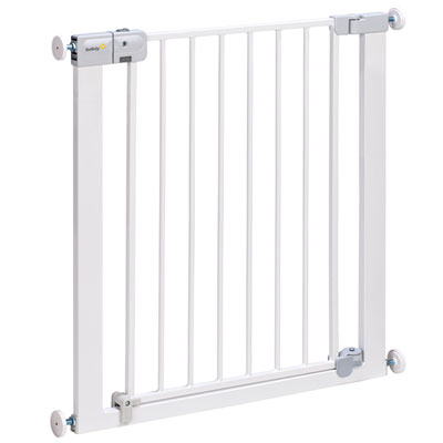 Barrière de sécurité auto close metal white 73-80 cm Safety 1st
