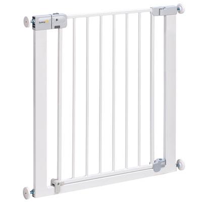 Barrière de sécurité auto close metal white 73-80 cm Safety 1st