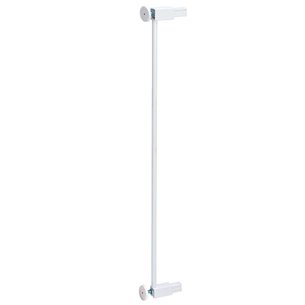 Extension barrière 7cm white easy close extra tall metal Safety 1st