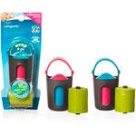 Distributeur wrap and go + 2 recharges de 15 sachets poubelle couche pas cher