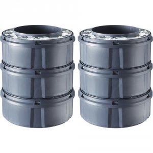 Sangenic Multipacks de 6 recharges pour poubelle tec sangenic