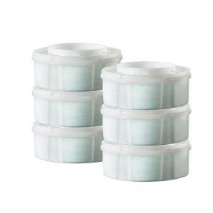 Sangenic Starter pack poubelle tec bleu + 6 recharges