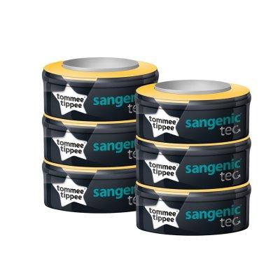 Multipacks de 6 recharges pour poubelle tec sangenic Sangenic