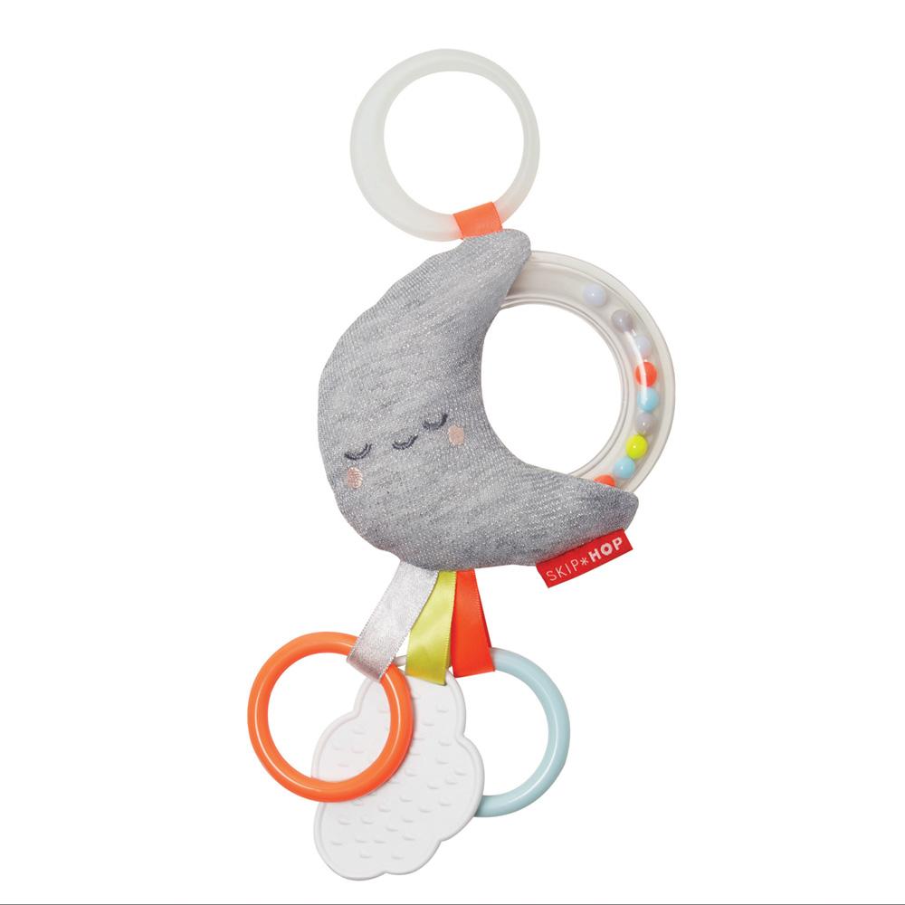 jouet d 39 veil b b pour poussette lune de skip hop chez naturab b. Black Bedroom Furniture Sets. Home Design Ideas