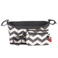 Sac de transport poussette chevron