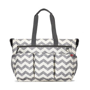 Sac à langer duo double chevron