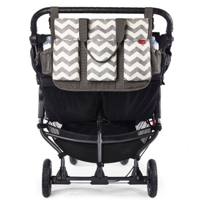 Sac à langer duo double signature - chevron Skip hop