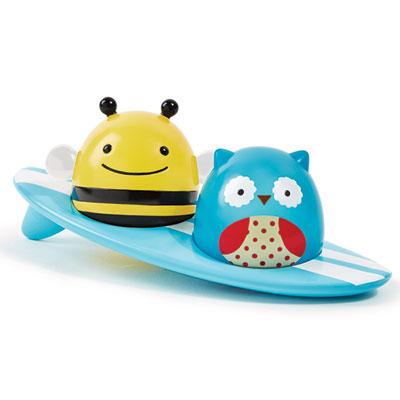 Jouets de bain bébé surfer zoo lumineux Skip hop