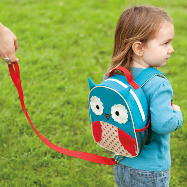 Mini sac à dos harnais hibou Skip hop