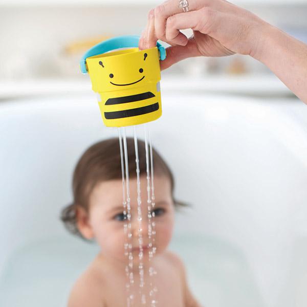 Jouets de bain bébé 5 tasses Skip hop