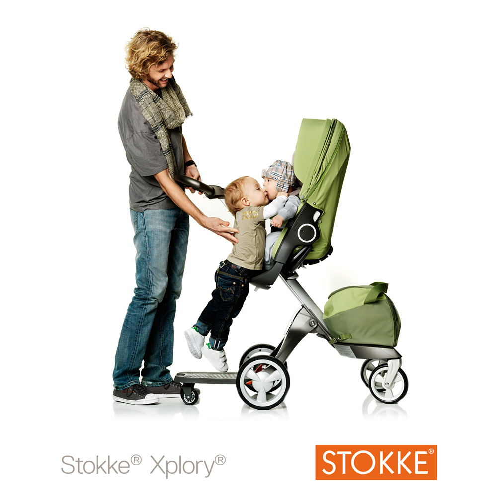 planche roulette pour poussette xplory de stokke sur. Black Bedroom Furniture Sets. Home Design Ideas