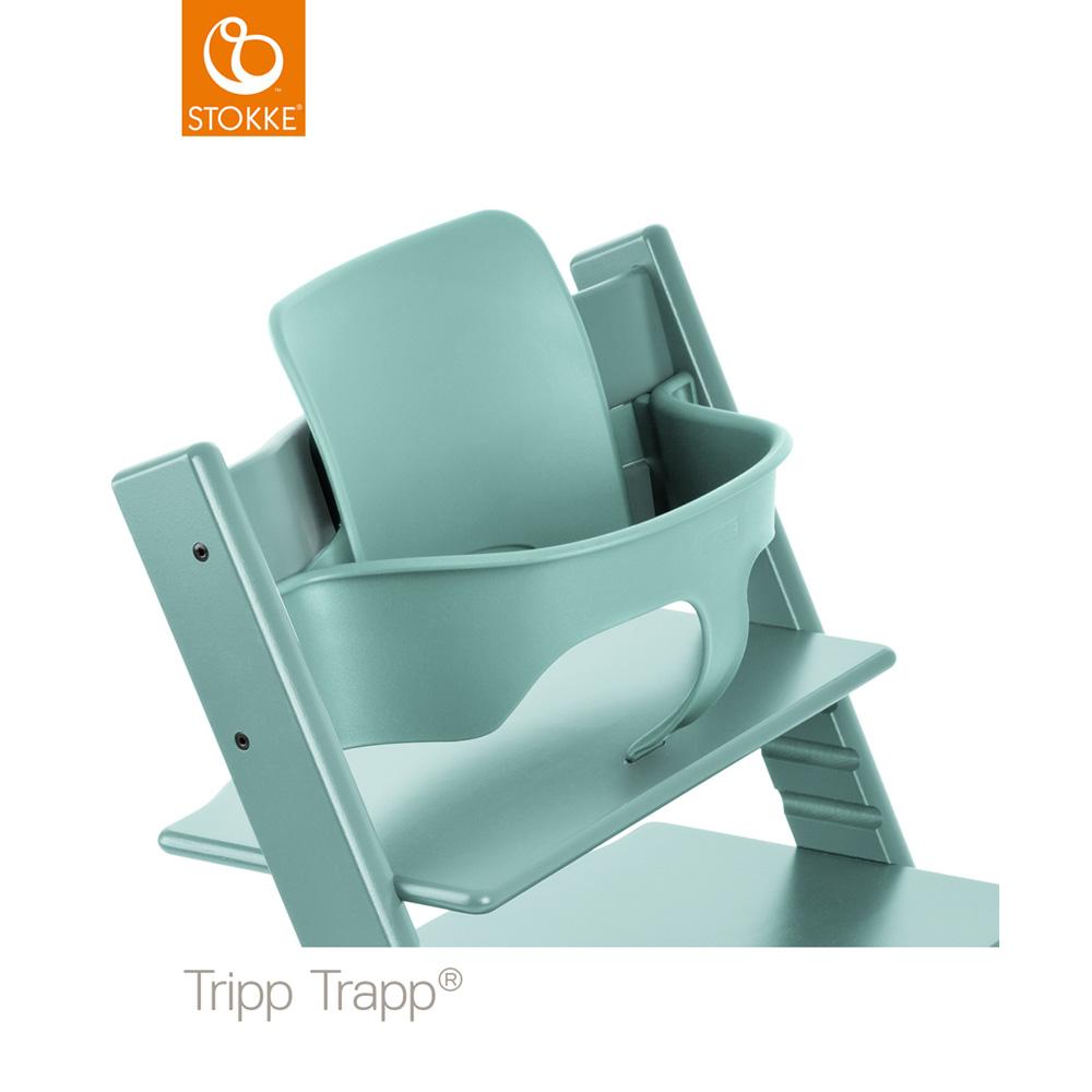 Fauteuil b b tripp trapp baby set bleu aqua de stokke sur for Fauteuil auto bebe