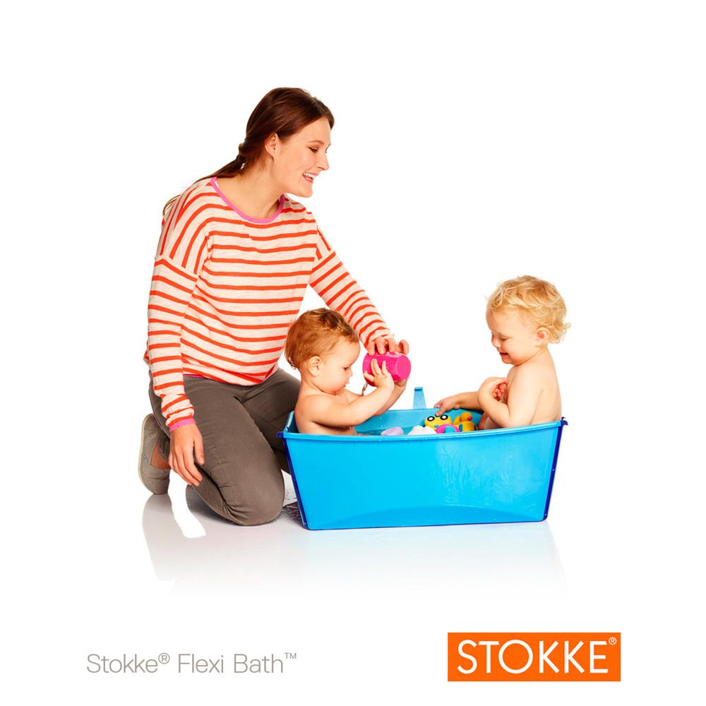 baignoire b b flexibath bleu de stokke en vente chez cdm. Black Bedroom Furniture Sets. Home Design Ideas